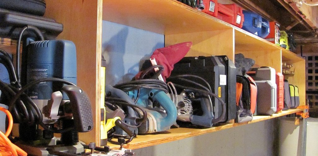 Build your own Garage Storage Bins