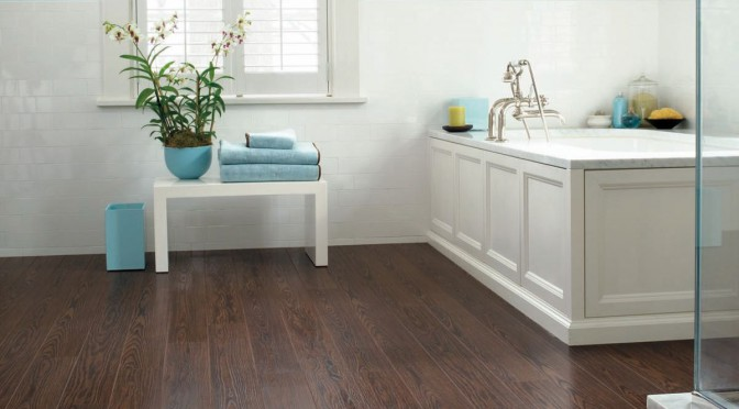 Bathroom Wood Flooring