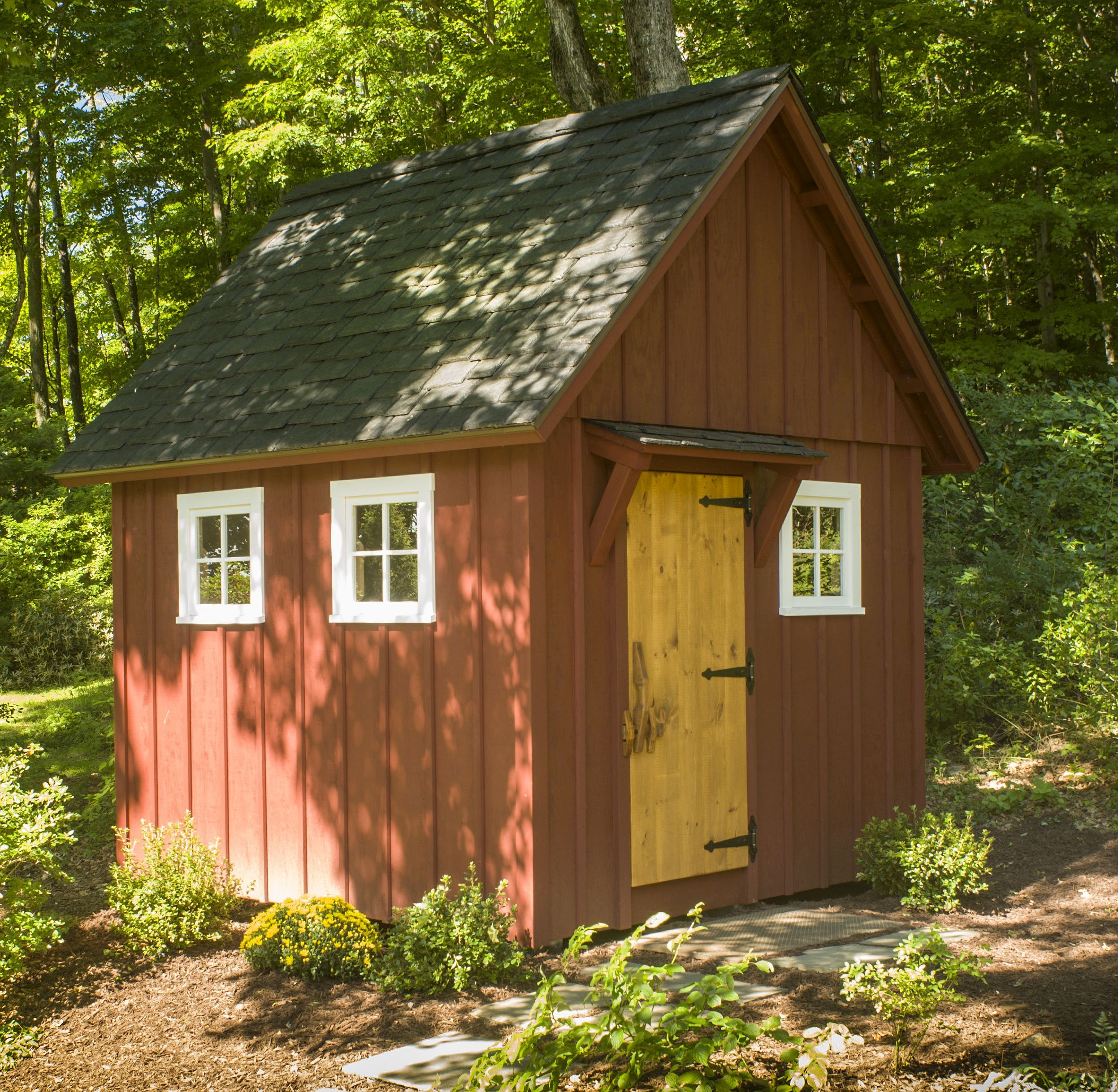 How to Build a Better  Backyard Storage Shed 1