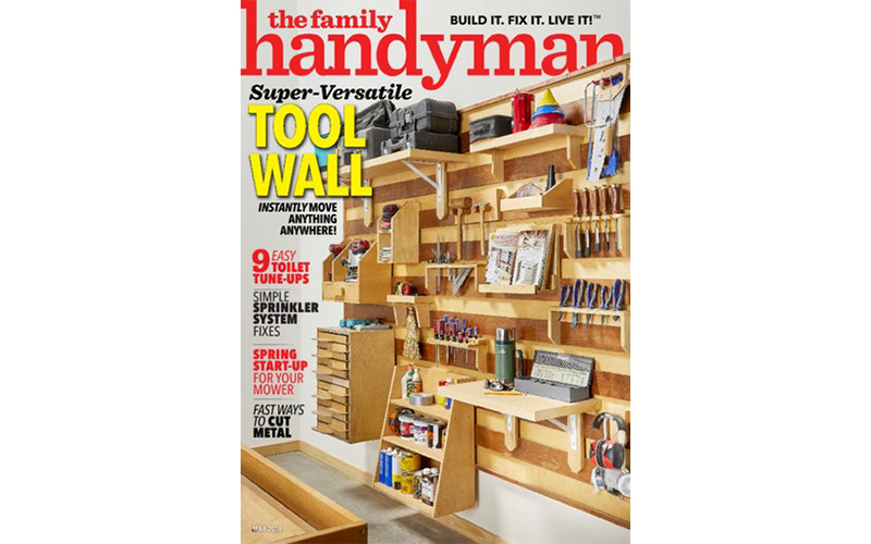 The Family Handyman Cover May 2018